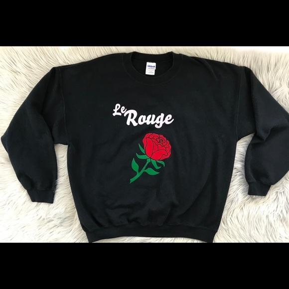 4001afb3ad1e Vintage Le Rouge Velvet Printed Sweatshirt. M 5aebe55e739d480094e0e7a7